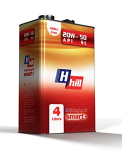 روغن موتور 4 لیتری Hhill 20w-50