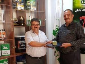 اهدای وانت نیسان توسط شرکت الموت آبادان